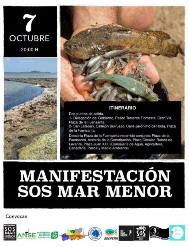 <span style='color:#780948'>ARCHIVED</span> - Politicians urged not to attend Mar Menor protest in Murcia