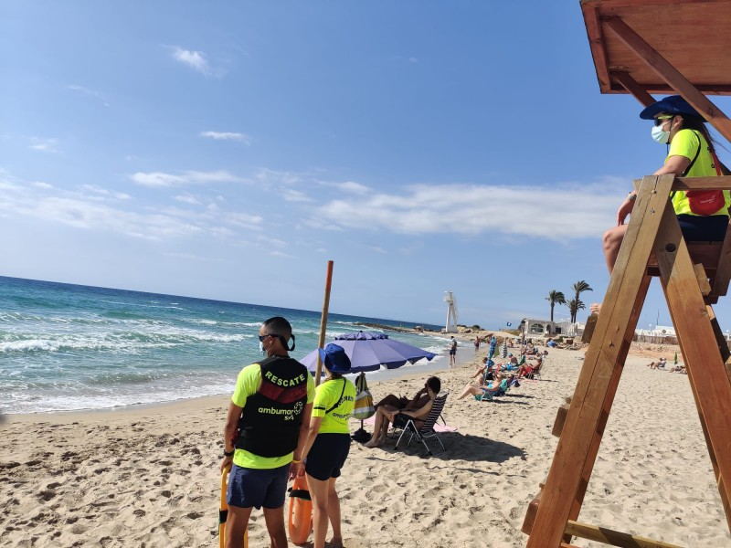 <span style='color:#780948'>ARCHIVED</span> - Pensioner drowns on Mazarron beach: seventh drowning victim this year