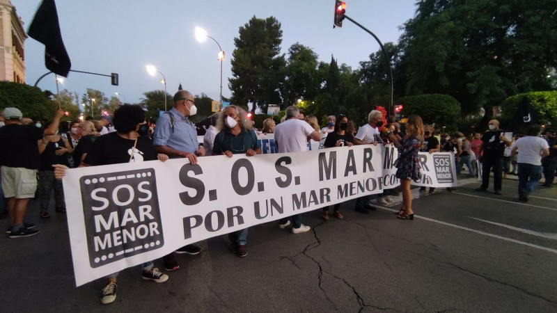 Over 70,000 people attend Mar Menor protest demonstration in Murcia