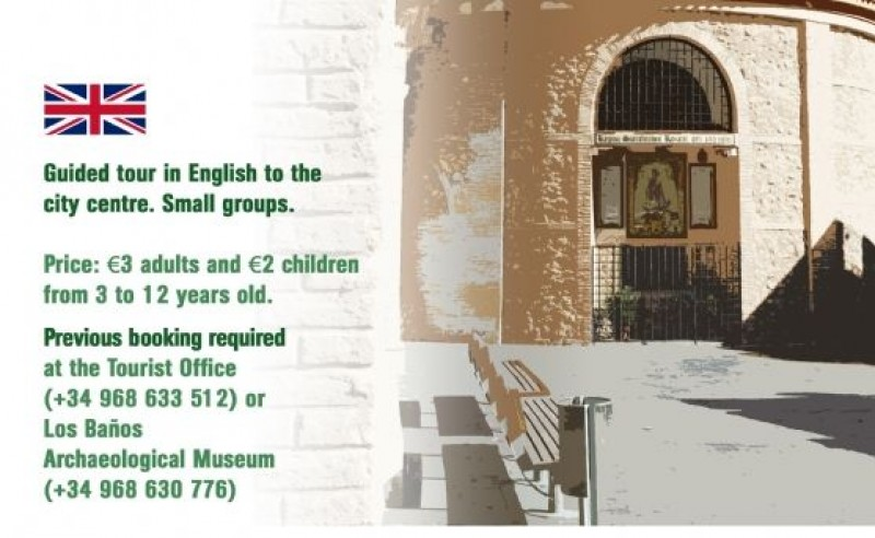 Guided tour of Alhama de Murcia town centre in English: October 23
