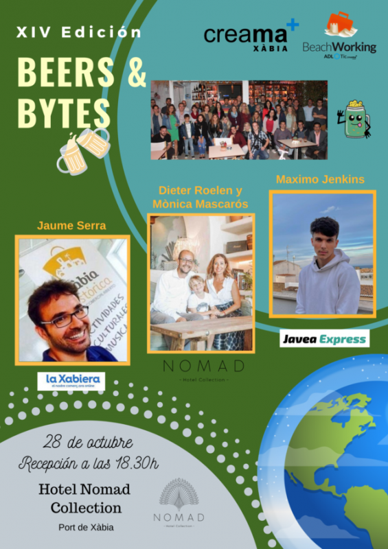 Beers and bytes: beach networking returns to Javea