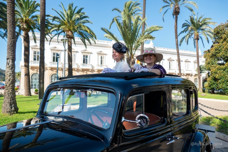 International Classic Car Contest in Cartagena: October 29 to 31