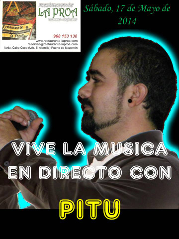 17th May, Pitu at La Proa, Puerto de Mazarron