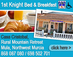 1st Knight Bed and Breakfast Casa Cristobal Mula