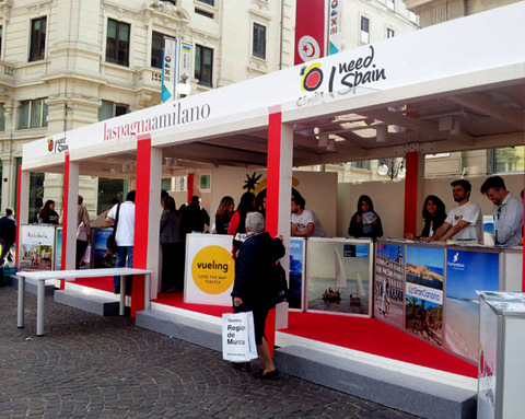<span style='color:#780948'>ARCHIVED</span> - Murcia promotes tourist attractions in Italy