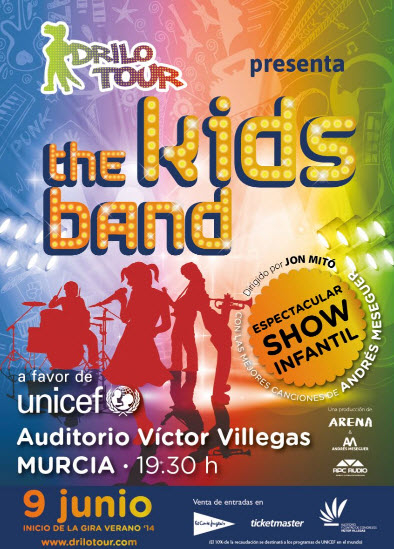 <span style='color:#780948'>ARCHIVED</span> - 9th June, Children's entertainment, Kids Band Murcia