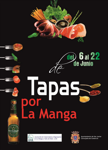 <span style='color:#780948'>ARCHIVED</span> - 6th to 22nd June, La Manga Tapas Route
