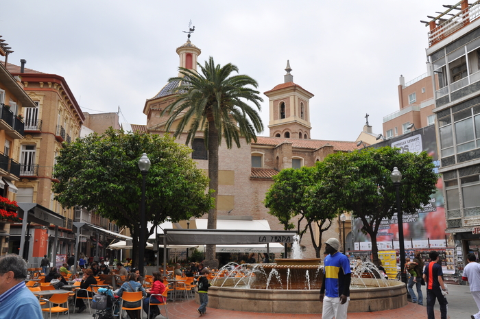 Plaza de Las Flores, city of Murcia