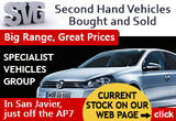 Specialist Vehicles Group, used cars bought and sold San Javier