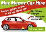 Mar Menor Car Hire offers car rentals from Los Alcázares