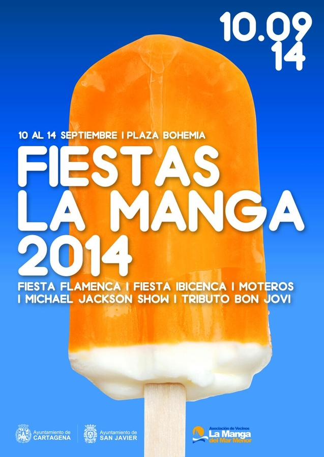 <span style='color:#780948'>ARCHIVED</span> - La Manga Fiestas 2014,10th to 14th September