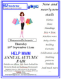 18th September, Help Murcia Mar Menor Autumn Fair