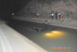 Woman rescued from the Tajo-Segura canal in Totana after car crash