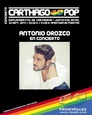 25th September, free pop concert featuring Antonio Orozco in Cartagena