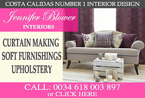 Jennifer Blower Interior design, curtains and soft furnishings