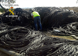 70 kilometres of stolen irrigation tubing recovered in the Campo de Cartagena