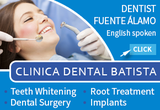 English speaking Dentist Clínica Dental Batista Fuente Alamo