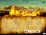 31st October to 2nd November, Mediaeval market Moratalla