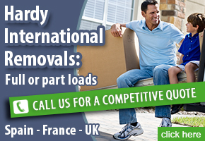 Hardy International Removals, Spain France UK removals service