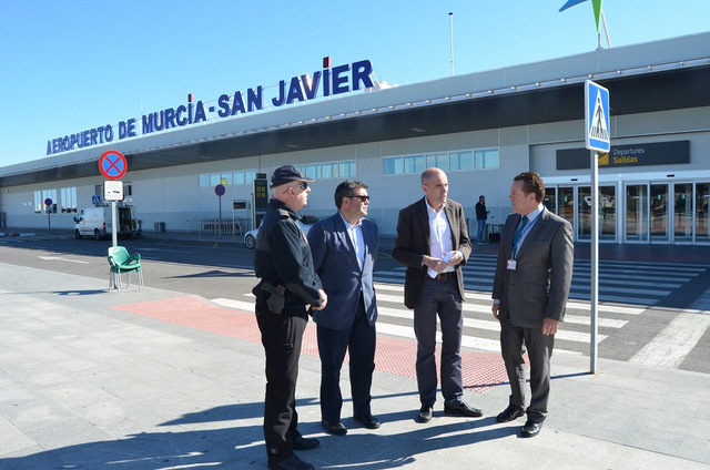 <span style='color:#780948'>ARCHIVED</span> - Local police to control access roads inside and outside San Javier airport