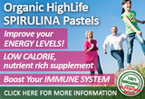Spirulina Superfood pastels, a nutrient-rich dietary supplement