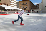 Cartagena ice skating rink open from 29th November to January 6th