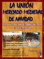 19th to 21st December Mediaeval market in La Unión