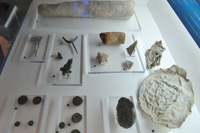 Hospital de la Caridad archaeological museum in Portmán