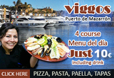 Viggos restaurant offer top value in the Puerto de Mazarrón