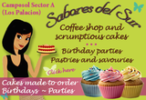 Sabores del Sur, coffee shop and home-made cakes in Camposol