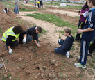 31st January, children's tree planting morning in the Sierra Espuña
