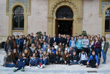 English students from Collingwood College enjoy exchange trip to Águilas