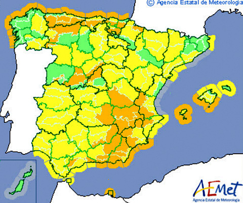 Murcia Today - Weather Warning In The Region Of Murcia This Weekend