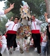 2nd May, Lions coach trip to the Running of the Wine Horses at Caravaca de la Cruz