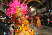 Bling and bottoms are back at Aguilas carnival