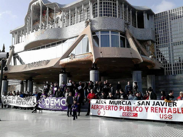 San Javier workers say they will never move to Corvera