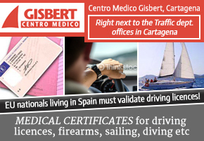 From January 2015 foreign national Spanish residents must validate UK driving licences