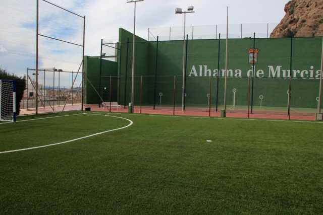 <span style='color:#780948'>ARCHIVED</span> - Artificial turf improves Alhama de Murcia sports complex