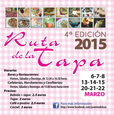 6th to 29th March Tapas route and gastronomic menus in Cieza