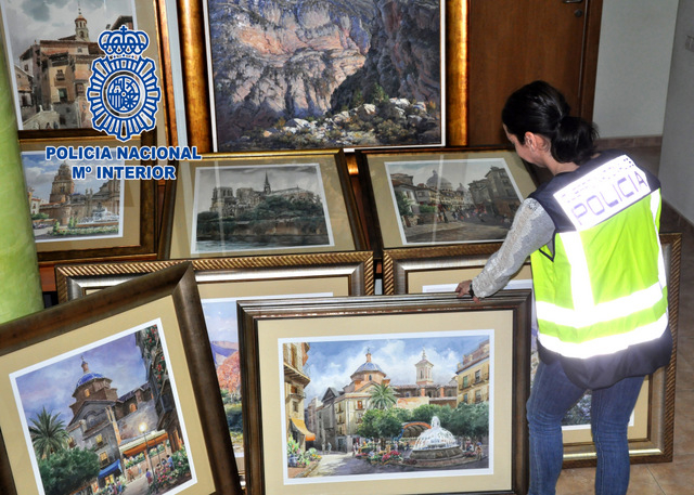 <span style='color:#780948'>ARCHIVED</span> - Art fraudster arrested in Murcia