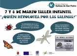 7th and 8th March, free children's insect study activities in San Pedro del Pinatar