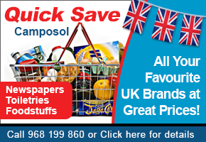 Quick Save Camposol offer British branded products