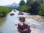 MurciAventuraS, rafting in the Ricote valley: Cieza, Abarán and Blanca