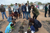 Children's educational garden inaugurated in San Javier
