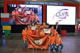 Incredible Squirrels represent Fuente Álamo in the World First Lego League Festival