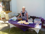 Coffee and cakes in the sun for MABS Mar Menor