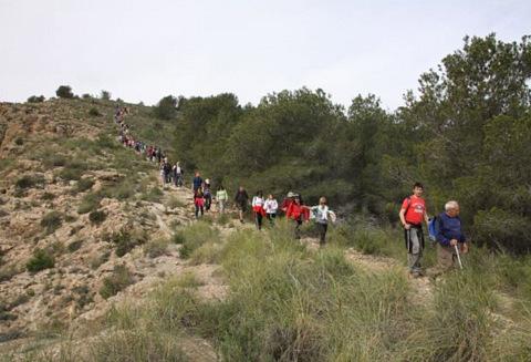 <span style='color:#780948'>ARCHIVED</span> - 26th April free guided walk in Sierra Espuña regional park
