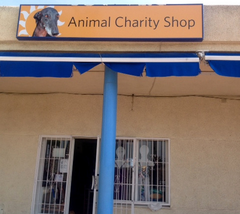 Animal welfare charity shop Los Narejos