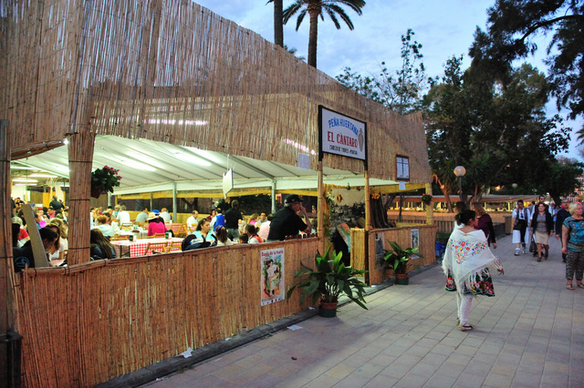 Until 12th April, Barracas tapas gardens in the city of Murcia