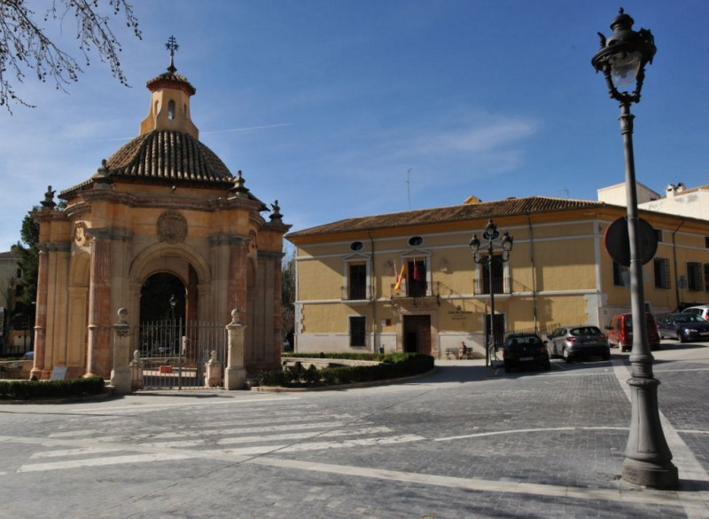 The Templete and the bathing of the Cross of Caravaca